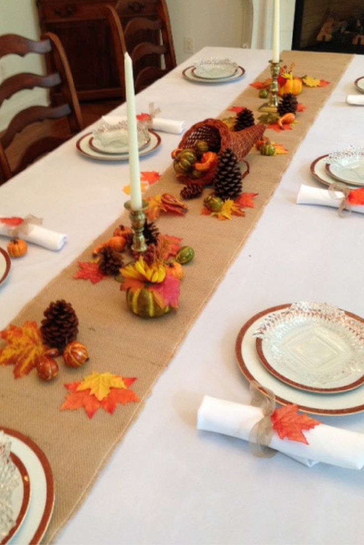 Http://amzn.to/2fum8mo Ivory And Burlap Set On Sale Now · Fall Decorating TableclothsBurlapRunnersThanksgivingEntertainingCookingAmazonsIvory
