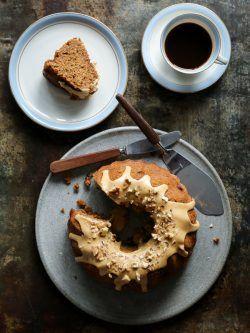Kaffekage med valnødder