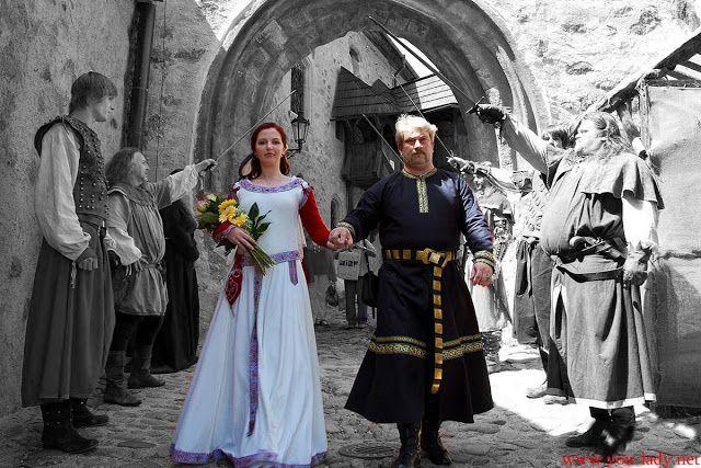Неформальная свадьба в стиле «Средневековье»