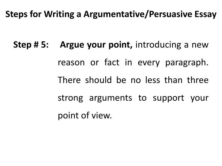 Ppt Argumentative Persuasive Essay Powerpoint Type Of Writing Tips How To Write A Thesi Statement For Research Paper