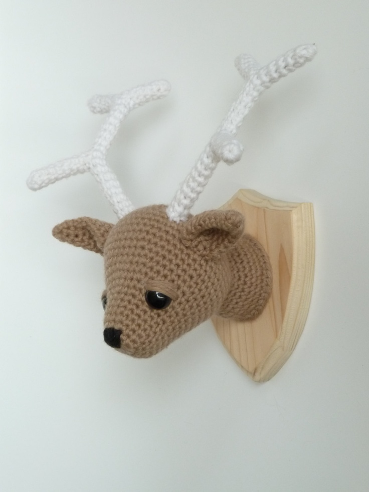 Amigurumi Human Nose : 1000+ ideas about Mounted Deer Heads on Pinterest ...