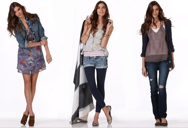 Fall fashion - three hot fall outfits for a college fashionista  Cute and transitional