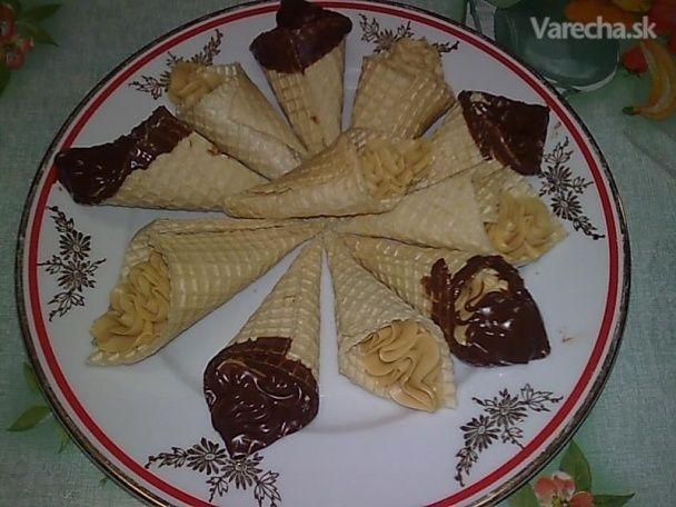Karamelové zmrzlinky (fotorecept)