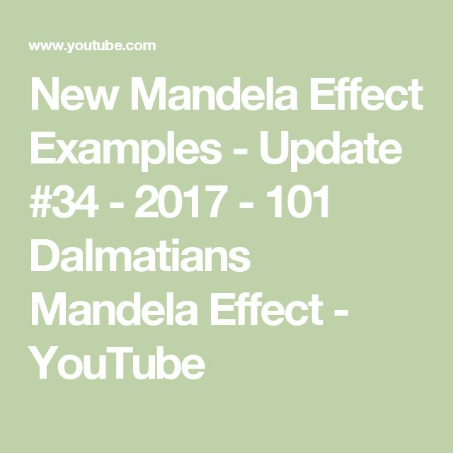Mirror Mirror and Mandela Effect Research  Mandela Effect