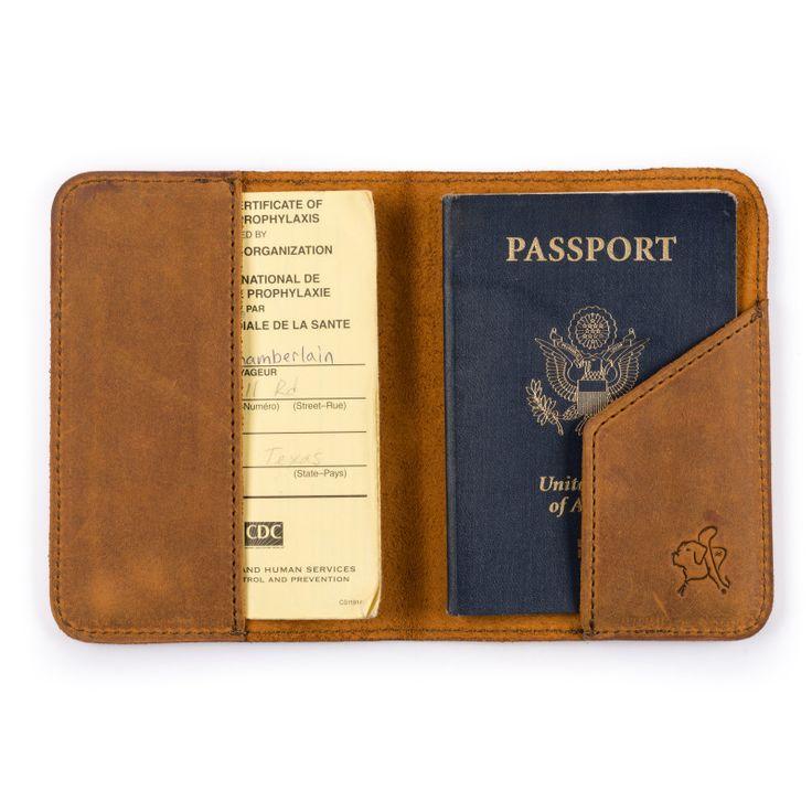 Etui En Cuir De Passeport - Charmés Par Vida Vida fs1h4i9drg