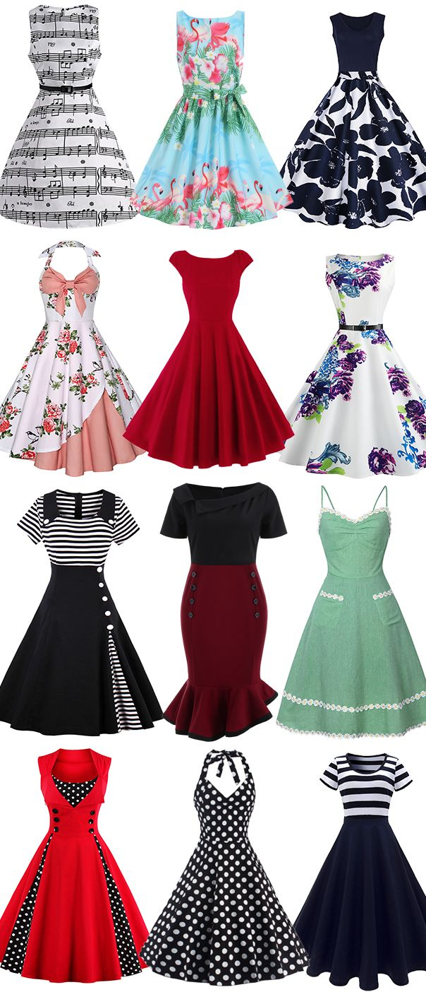 Summer style,Looking for a vintage dress that'll work for all the summer parties,you deserve it.