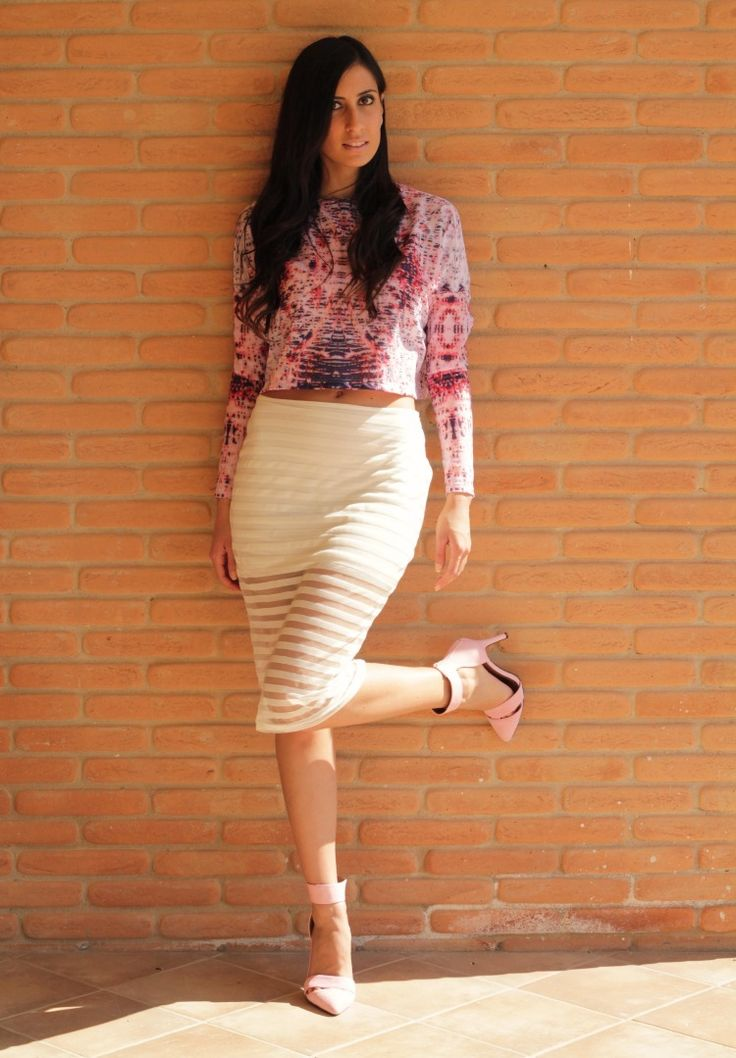 www.streetstylecity.blogspot.com Fashion inspired by the people in the street ootd look outfit sexy legs heels skirt