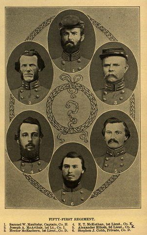 51st NC officers