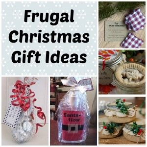 If you are looking for inexpensive, yet thoughtful, Christmas gifts to give to friends and family, check out these Frugal Christmas Gift Ideas. #Saving Cent by Cent