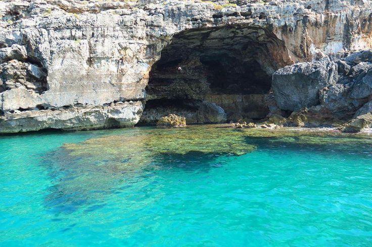 SANTA MARIA DI LEUCA - grotta della vora