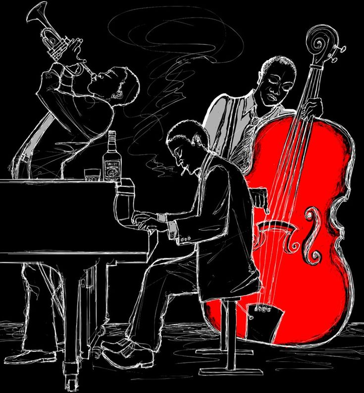 Jazz with a spot of color [Does anyone know the artist?]