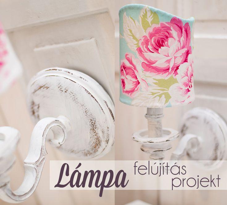 Hogyan lesz egy szocreál falikarból vintage stílusú éjjeli lámpa? Olvasd el a blogon: http://hazaiprovence.hu/lampa-felujitas-projekt/