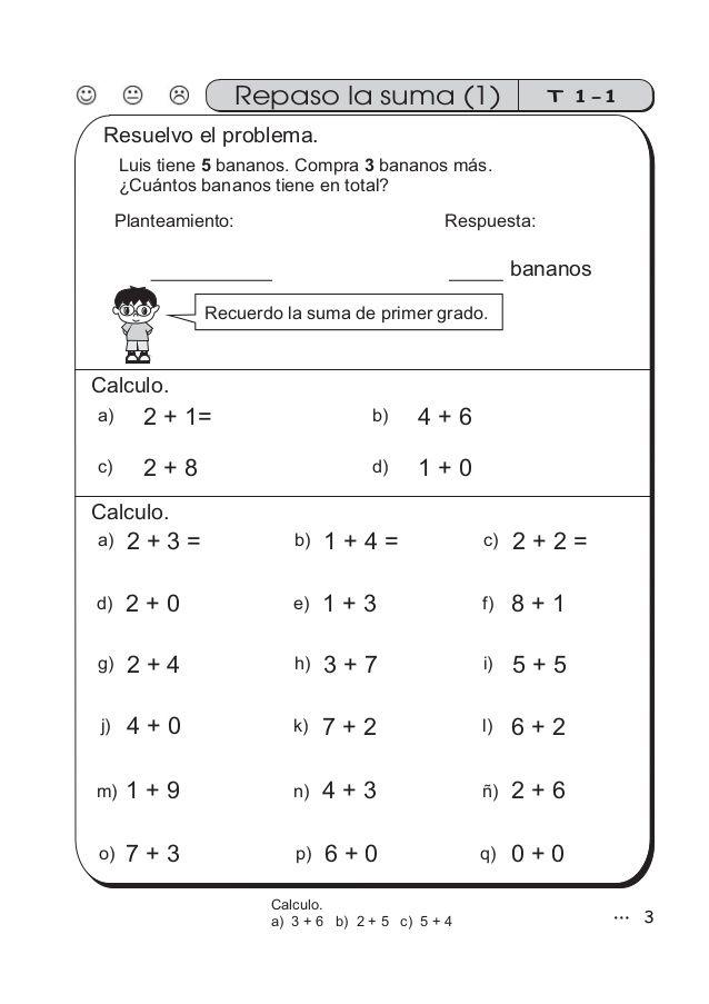 Guía De Matemáticas Para Segundo Grado Ejercicios Matematicas Segundo Grado Actividades Para Segundo Grado Matemáticas De Primer Grado