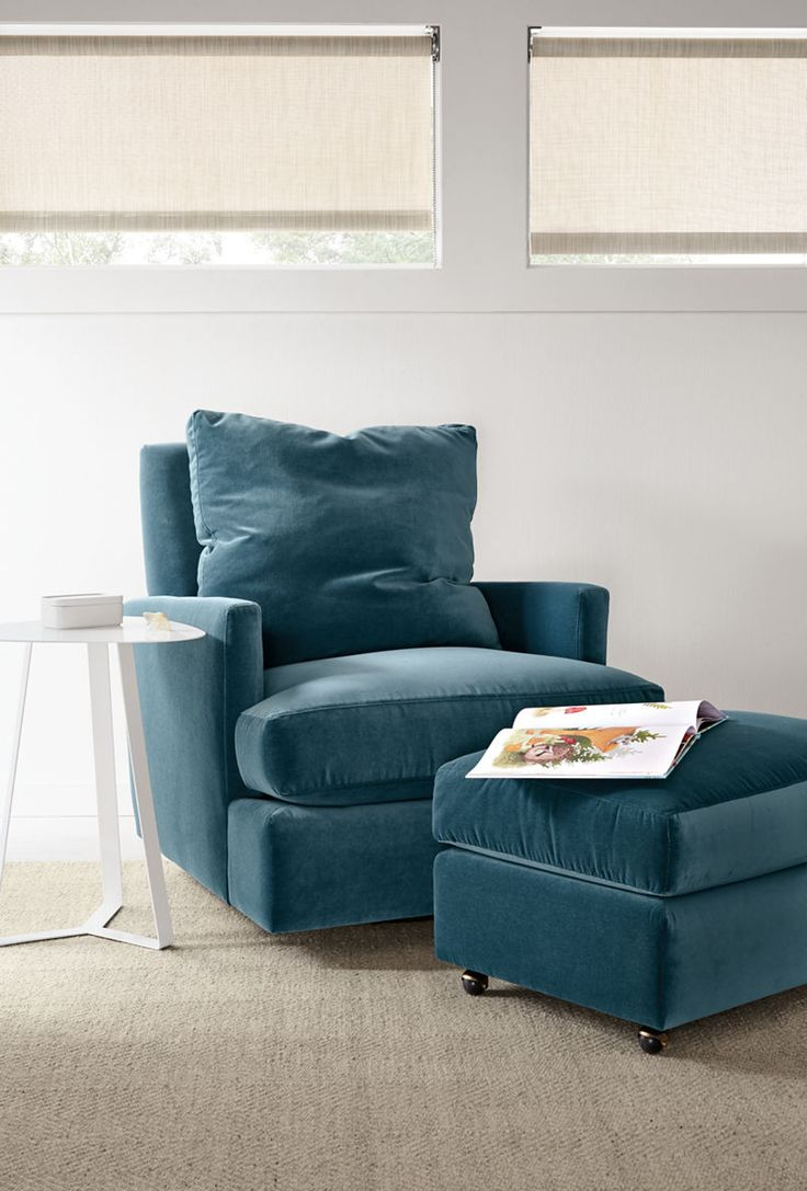 Colton Swivel Glider Chair & Ottoman