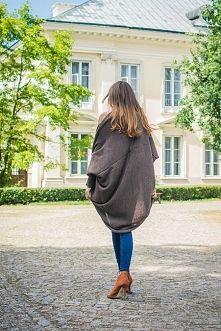 Zobacz zdjęcie sweter - narzutka oversize