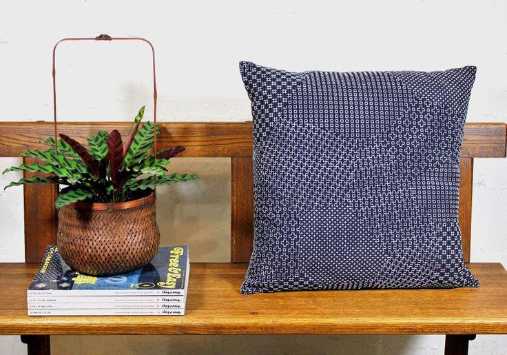 http://www.kirikomade.com/collections/kuma/products/pillow-navy-sashiko