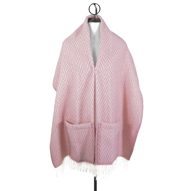 Soft and romantic, warm and lovely | Lapuan Kankurit Iida Rose Wool Pock Shawl - $85