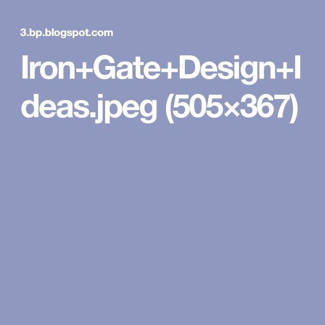 Iron+Gate+Design+Ideas.jpeg (505×367)