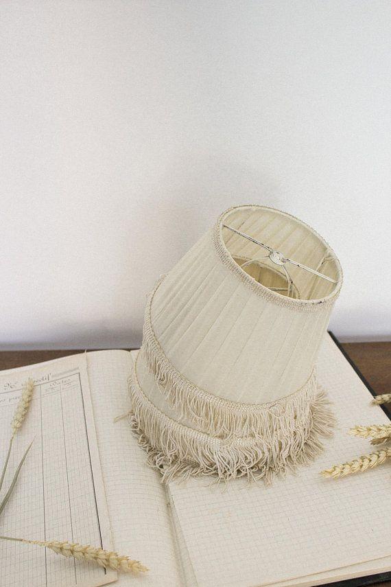 French Boudoir Lamp Shade Fringe Lampshade Antique Lamp