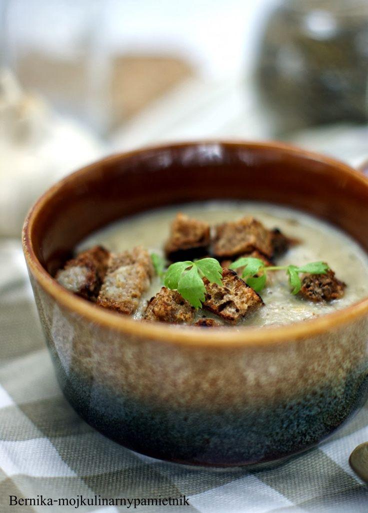 zupa czosnkowa, montignac, dieta, bernika, moj kulinarny pamietnik