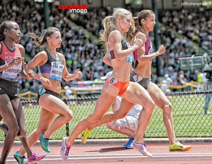 Fitter Runner - trackandfieldimage:   Emma Coburn (#6) , USATF ,...