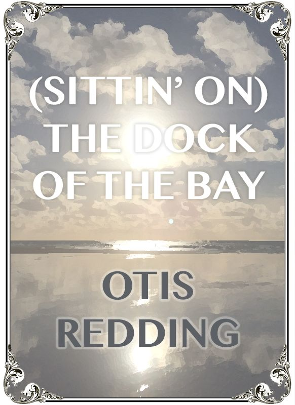 Sitting' On The Dock of the Bay by soul legend Otis Redding - this chilled out tune is perfect at the afternoon reception while guests relax with a drink in hand!