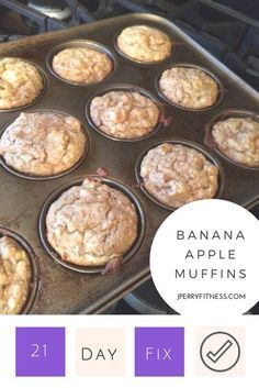 21 day fix approved healthy breakfast muffins.