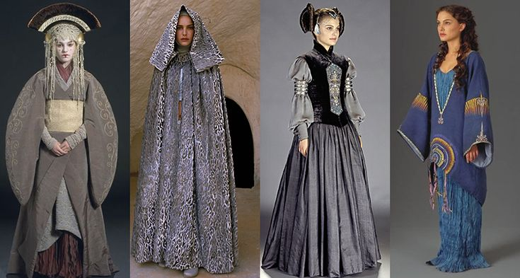Padmé Amidala's wardrobe from Star Wars