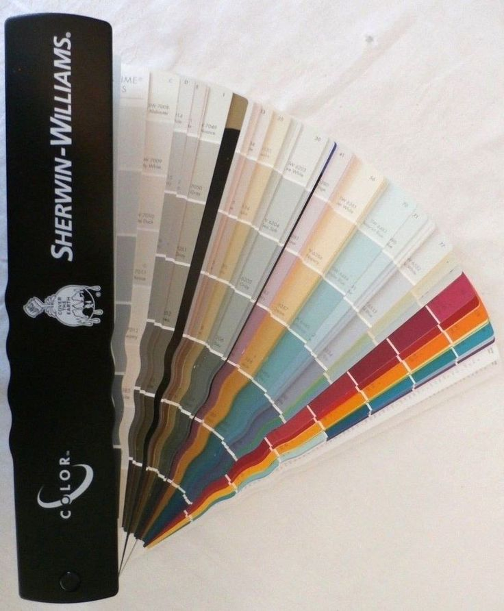 Sherwin williams paint color samples professional fan deck for Sherwin williams paint sample