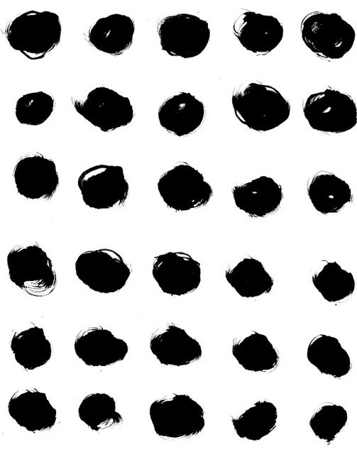 GRAPHIC | DOTSPolka Dots, Diy Art, Black And White, Dots Pattern, Diy Pattern Prints, Black Dots, Ashley Goldberg, Colors Black, Artists Dots