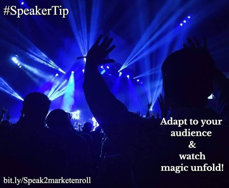 Adapting to your audience is a great way to build engagement and during a talk! If you do it well you may even get a standing ovation at the end!  Adapting to your audience is so important because it allows you to connect with them relate to them and really make them a part of the message you are delivering. Which leads to increasing your influence and impact which will most definitely increase your chances of sales at the end of your talk!  For example  this weekend I had a speaking…