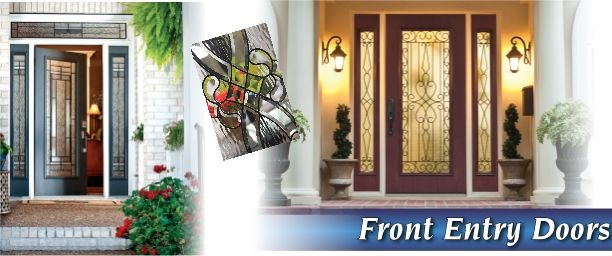 Exterior Doors with Glass Front entry doors are 100% rot-proof doors and door frames.  Many different styles and