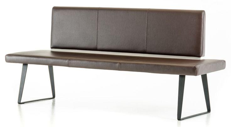 Vanderbilt Dining Bench With Back Upholstered | Kitchen Bench