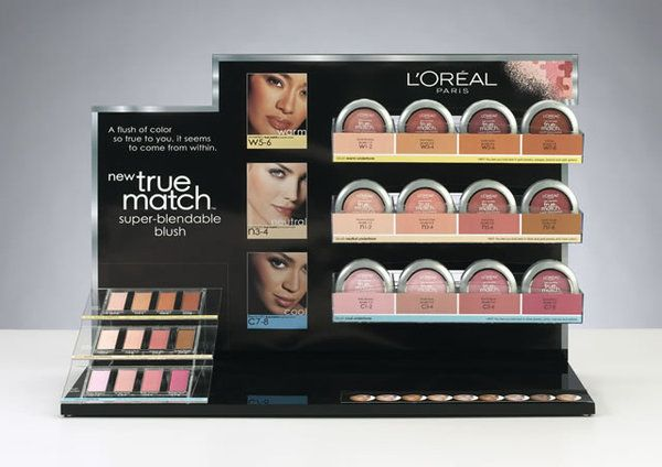 L'Oreal - True Match POP Display by Kacy Belew, via Behance