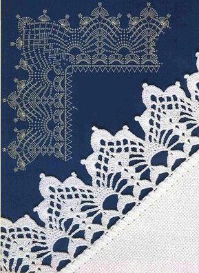 Uncinetto E Crochet Bordi Alluncinetto Per Tutti Progetti Da