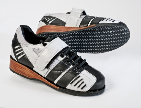 The White Thunder is a performance shoe used by Olympians and