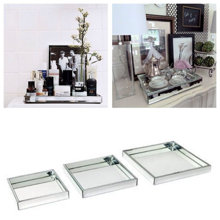 These Beautiful Lexington mirror trays are a perfect way to enhance your home decor. Available in 3 sizes small$55 medium $65 large $79. In stock now at www.homeaboutstyle.com.au
