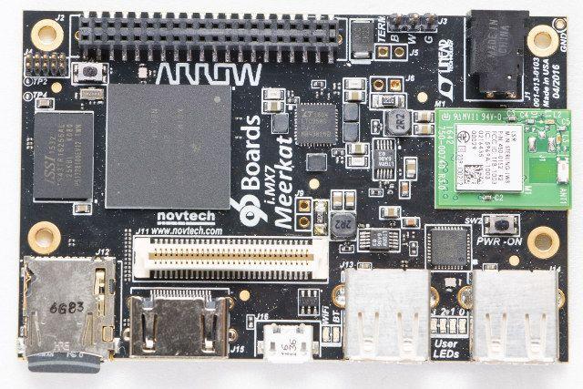"""iMX7-96 """"Meerkat"""" ARM Cortex A7/M4 Development Board"""