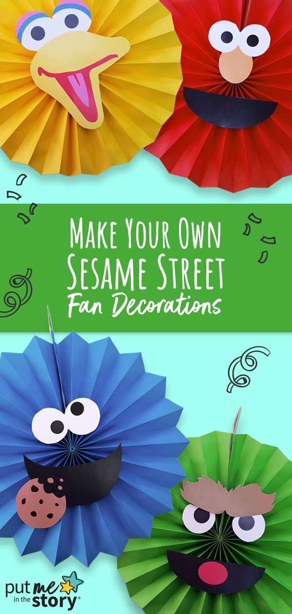 Celebrate Elmo's birthday with easy DIY fan decorations! – Put Me In The Story Blog
