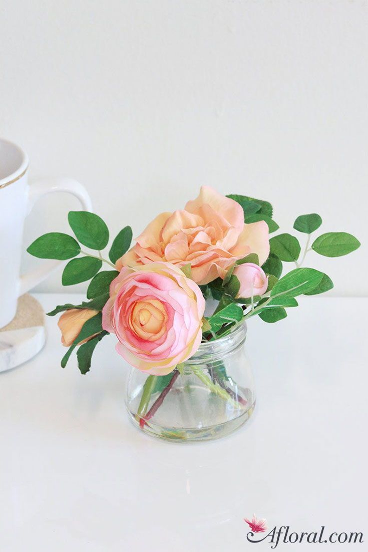 Shop Afloral To Beautify Your Home With Premium Artificial Flowers All Our Silk Flowe Small Flower Arrangements Flower Arrangements Simple Flower Arrangements