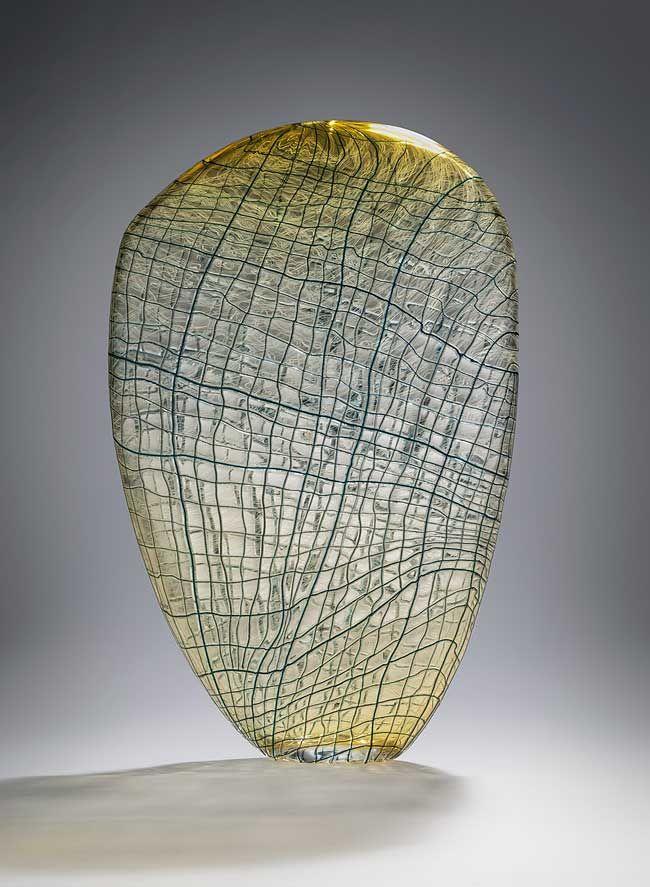 Cnberra Glassworks Giftshop voucher. Clare-Belfrage-Open-Weave-31112