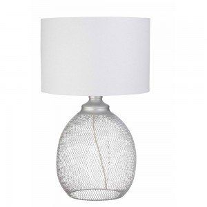 Silver Hudson Table Lamp