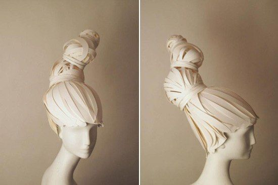 Oh-So-Elegant Paper Wigs « Papercraft