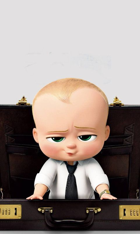 Download The Boss Baby Animated Movi 2017 HD Wallpaper In 480x800 Screen Resolution