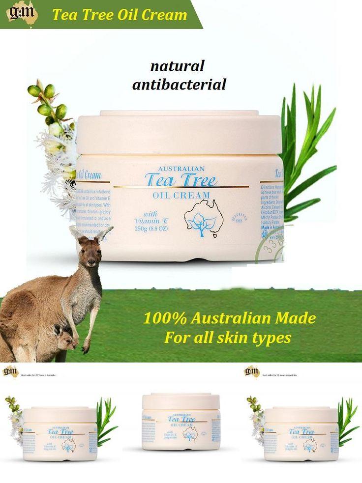 [Visit to Buy] 100% Australian GM Tea Tree Oil Cream Face Cream moisturising Body Cream for dry skin sensitive skin cream soft & soothes skin #Advertisement