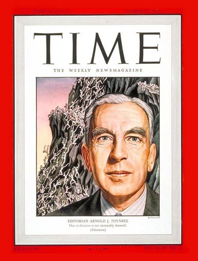 TIME Magazine Cover: Arnold J. Toynbee - Mar. 17, 1947 - Writers - History - Education