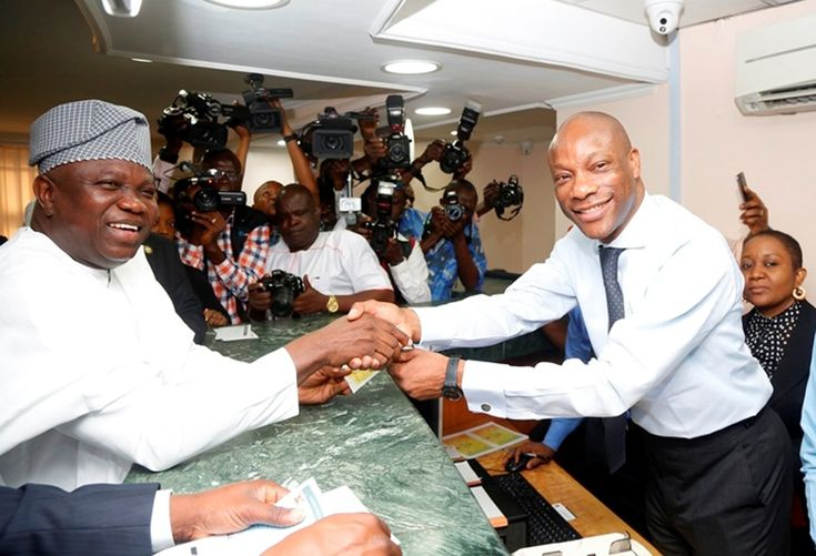 LAGOS STATE GOVERNOR FLAGS OFF E- TAX PAYMENT CAMPAIGN AT GTBANK