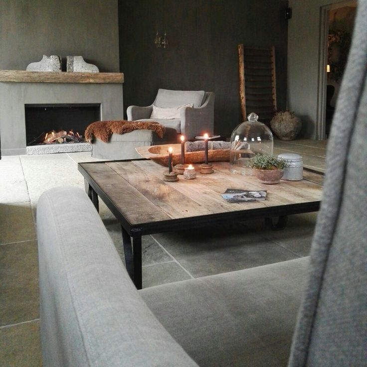living room landelijk stoer en sober wonen www.judith-en-co.blogspot.com