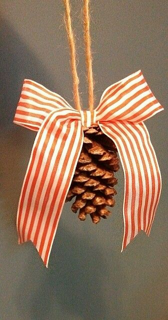 Pinecones ornaments www.facebook.com/ellen-jays home decor