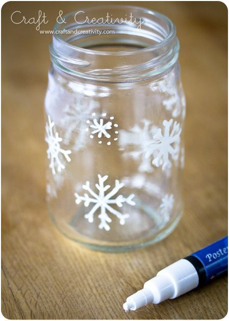 Christmas glass lanterns. Or you could add some small ball ornaments inside & set out for decoration. Or of course use them for mason jar gifts with hot chocolate ingredients or Xmas cookie ingredients inside etc. #xmas_present #Black_Friday #Cyber_Monday